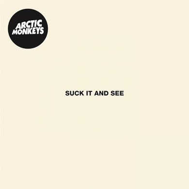 Arctic Monkeys - Suck It And See 12 Inch Vinyl