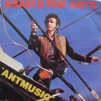Adam And The Ants - Ant Music 7 Inch Vinyl