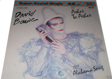 David Bowie - Ashes To Ashes 12 inch vinyl
