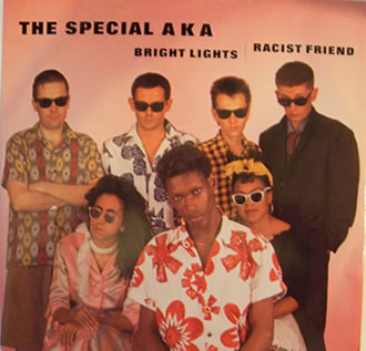 The Special AKA  - Bright Lights | Racist Friend - 12 Inch Vinyl