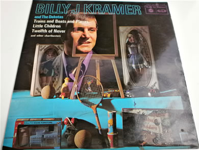 Billy J Krammer & The Dakotas - Trains And Boats And Planes etc 12 inch vinyl