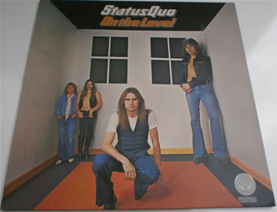 Status Quo - On The Level gatefold 12 inch vinyl