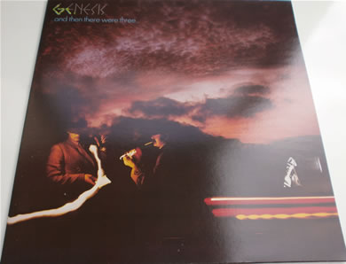 Genesis - Then There Were Three Charisma 12 inch vinyl