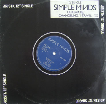 Simple Minds - Celebrate 12 Inch Vinyl