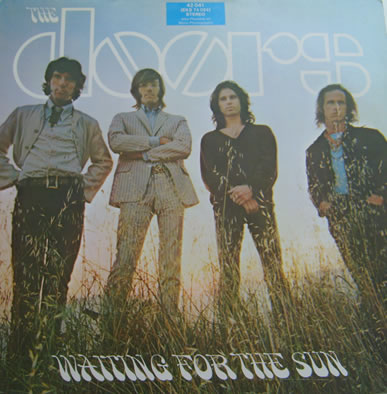 The Doors - Waiting For The Sun 12 inch vinyl