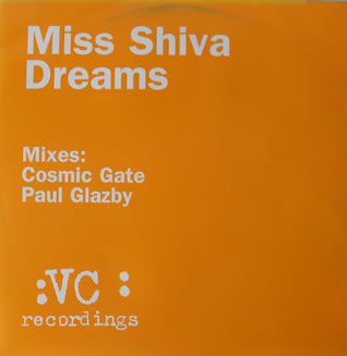 Miss Shiva - Dreams 12 Inch Vinyl