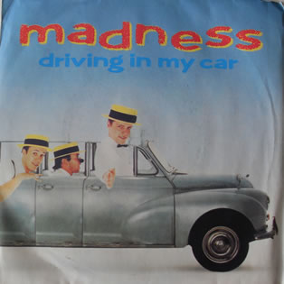 Madness - Driving In My Car 7 Inch Vinyl