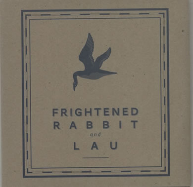 Frightened Rabbit and Lau - Norland Wind 7 Inch Vinyl