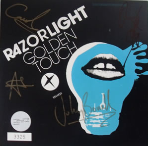 Razorlight - Golden Touch 7 Inch Signed Vinyl