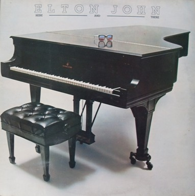 Elton John - Here And There 12 inch vinyl