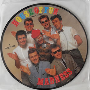 Madness - House Of Fun - Picture Disc 7 Inch Vinyl