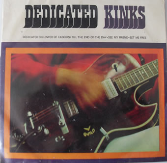 The Kinks - Dedicated EP 7 Inch Vinyl