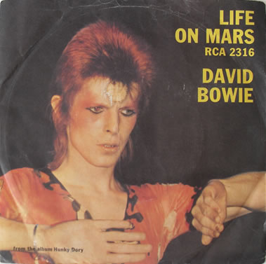 David Bowie - Life On Mars 7 Inch Vinyl