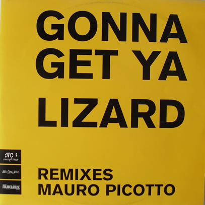 Mauro Picotto - Lizard (Gonna Get Ya) 12 inch vinyl