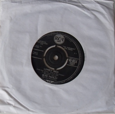 Elvis Presley - Lonely Man 7 inch vinyl