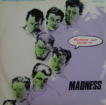 Madness - Tomorrows (Just Another Day) 12 inch vinyl