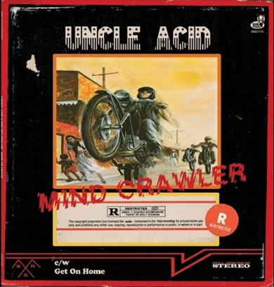 Uncle Acid And The Deadbeats - Mind Crawler 7 inch Vinyl