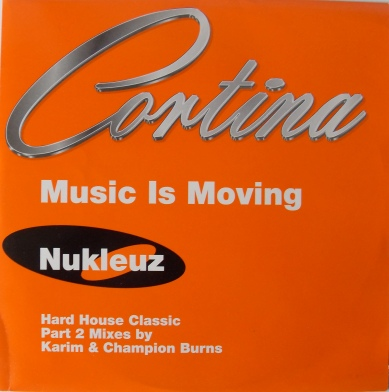 Cortina - Music Is Moving - 12 Inch Vinyl
