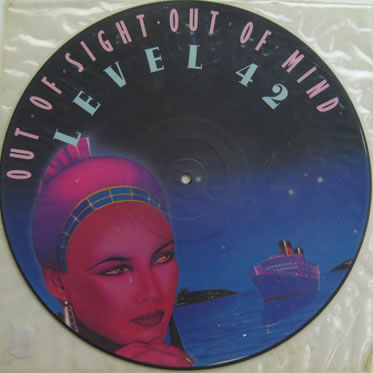 Level 42 - Out Of Sight Out Of Mind 12 Inch Vinyl