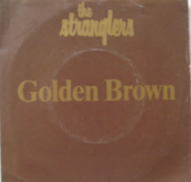 The Stranglers - Golden Brown 7 Inch Vinyl