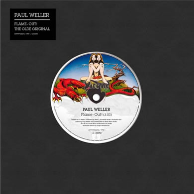 Paul Weller - Flame - Out 7 Inch Vinyl