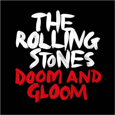 The Rolling Stones - Doom And Gloom Limited Edition 10 inch Etched Vinyl