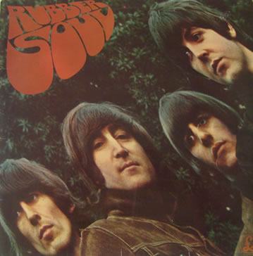 The Beatles - Rubber Soul 12 inch vinyl