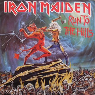 Iron Maiden - Run To The Hills 7 Inch Vinyl