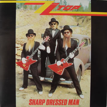 ZZ Top - Sharp Dressed Man 7 Inch Vinyl