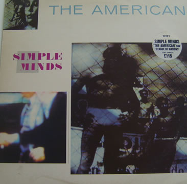 Simple Minds - The American 12 Inch Vinyl