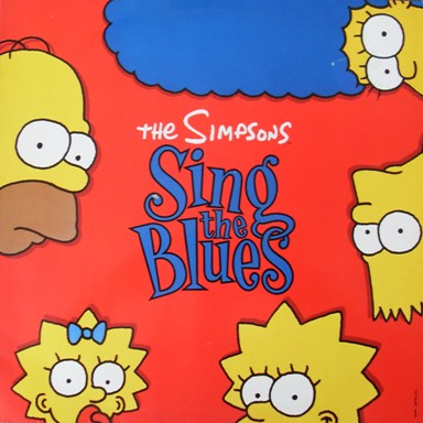 The Simpsons - Sing The Blues 12 inch vinyl