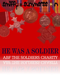 He Was A Soldier by Smiffy Summersson release date V.E.Day