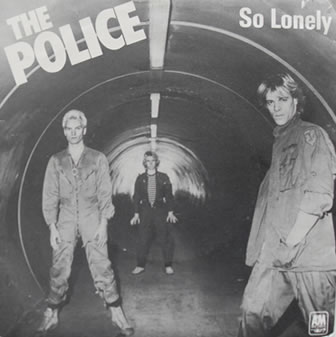 The Police - So Lonely 7 Inch Vinyl