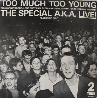 The Special A.K.A. Live EP 7 Inch Vinyl