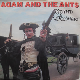 Adam And The Ants - Stand And Deliver 7 Inch Vinyl