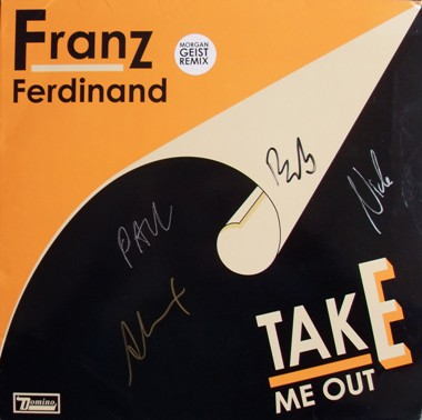 Franz Ferdinand - Take Me Out 12 Inch Signed Vinyl