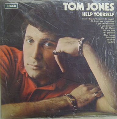 Tom Jones - Help Yourself 12 inch vinyl
