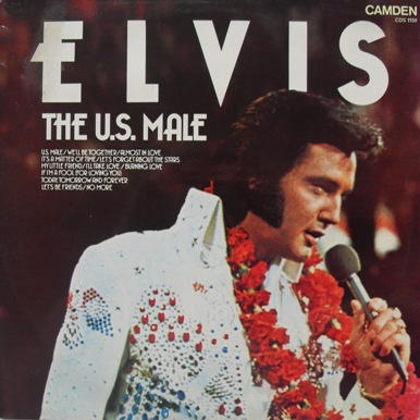 Elvis Presley - The U.S Male 12 inch vinyl