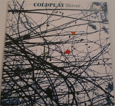 Coldplay - Shiver 7 inch vinyl