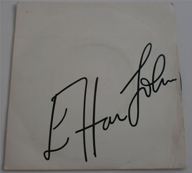 Elton John - Sugar On The Floor / Island Girl 7 inch vinyl