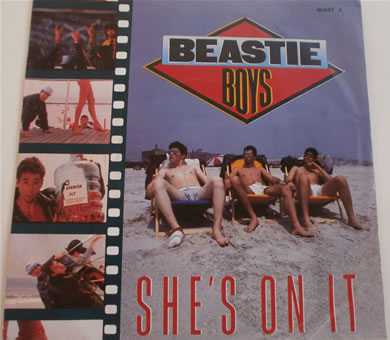 Beastie Boys - She's On It / Slow And Low beast2 7 inch vinyl