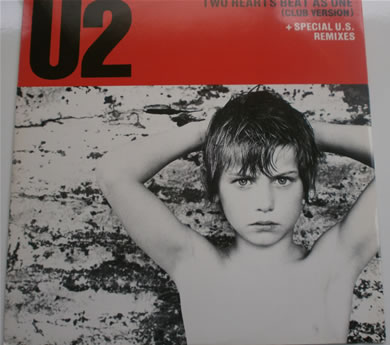 U2 - Two Hearts Beat As One (club version) 7 Inch Vinyl
