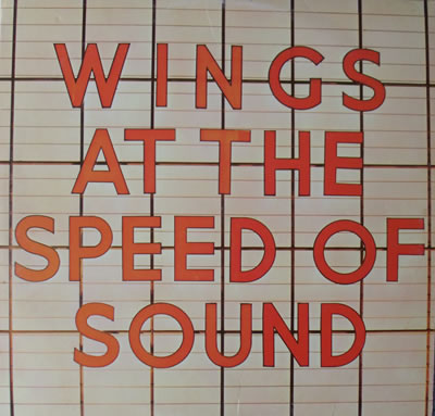 Paul McCartney & Wings - At The Speed Of Sound 12 Inch Vinyl