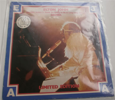 Elton John - Rocket Man / Daniel 1978 double A Side 7 inch vinyl