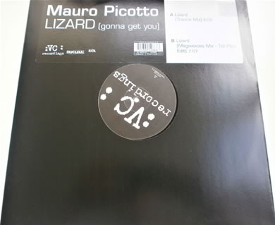 Mauro Picotto - Lizard (gonna get you) 12 inch vinyl