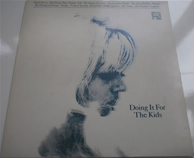 Doing It For The Kids creation records Alan McGee this is a label of love 1988 CRELP 037 12 inch vinyl
