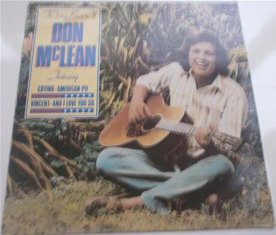 Don McLean - The Best Of 12 inch vinyl