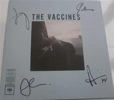 The Vaccines - Wetsuit signed 7 Inch Vinyl