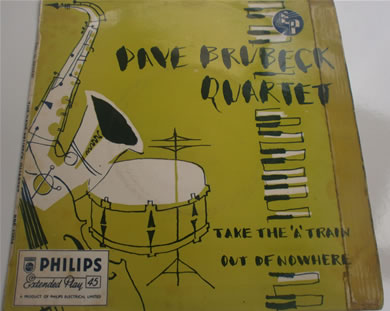 Dave Brubeck Quartet - Take The A Train Bi, Out Of Nowhere BBE12024 7 Inch Vinyl