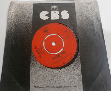 The Union Gap Band feat Gary Puckett - Young Girl Bi, Im Losing You 3365 1968 7 Inch Vinyl